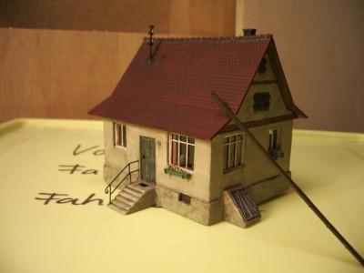 Modellbahnhaus