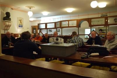 Railware Stammtisch Restaurant 2
