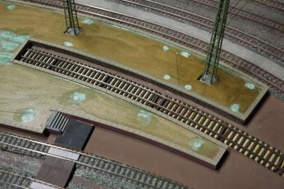 Bahnsteig Haftgrund aufgetragen