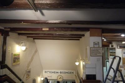 Treppenabgang Decke