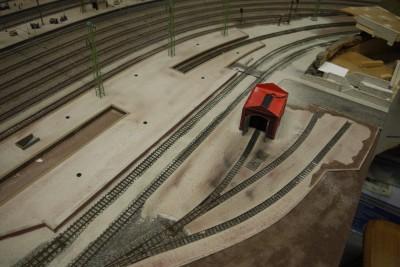 Bahnsteig Schmalspurbahn