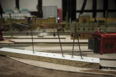 Bahnsteiglampen Mayburg