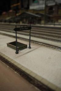 Schild Bahnsteigabgang