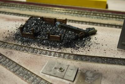 Kohlebansen HP-Spinne Schmalspurbahn