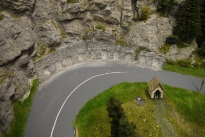 Felsenwand HP-Spinne