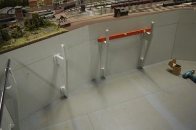 Handlauf Bahnhof HP-Spinne