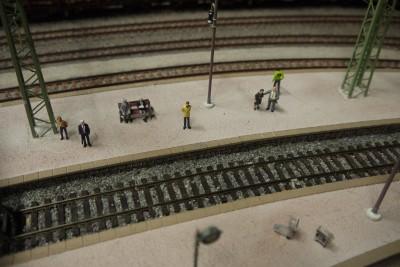 Bahnsteig Personen