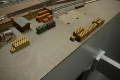 Hofgelände Holzhandel
