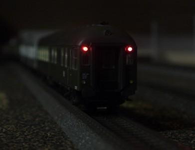 Steuerwagen LED rot