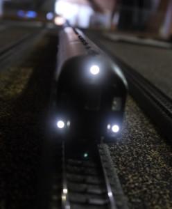 Steuerwagen LED weiß