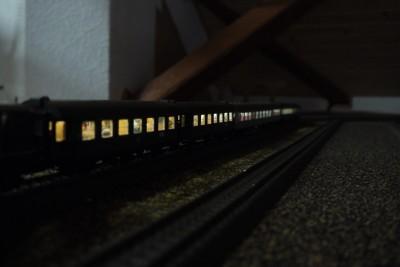 Wendezug bei Nacht 1