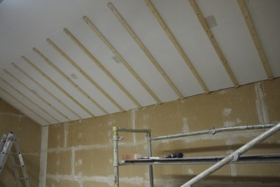 Dachlatten Decke