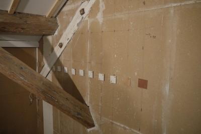 Wandunterbau Klötzchen