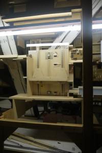 Aufzug HP-Spinne eingebaut