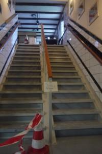 Treppe Mittelhandlauf