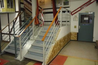 Treppenabgang unten