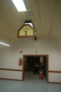 Gleis 1 Schild