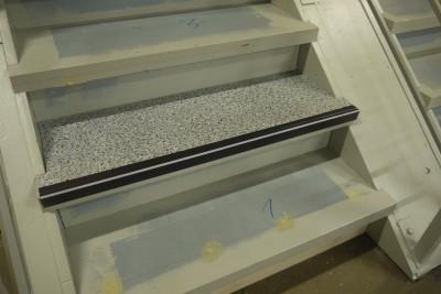 Neuer Treppenbelag