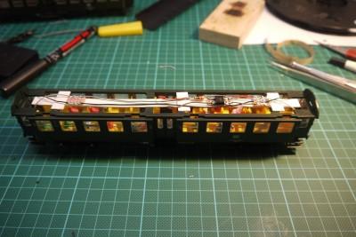 Umbauwagen Innenbeleuchtung