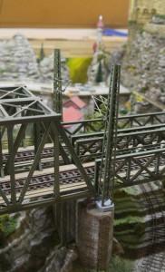 Streckenmasten Brücke