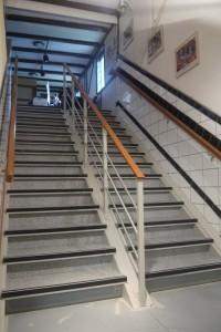 große Treppe Belag
