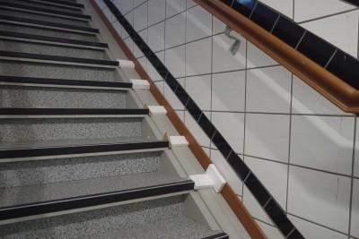Fußbodenleiste Treppe