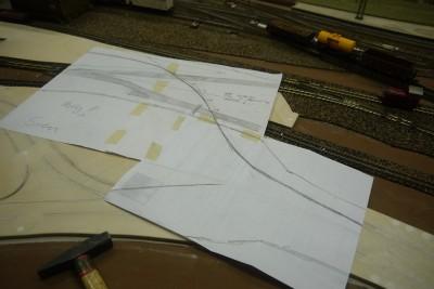 Straßenverlauf DC-Car Papier