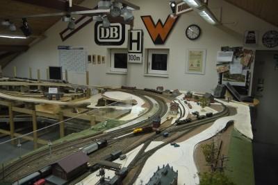 Bahnhof teilweise abgeräumt