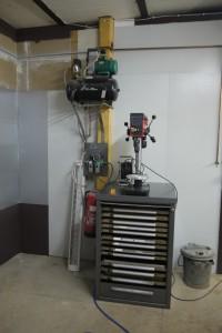 Bohrmaschine Schlosserei