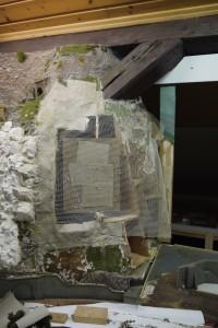 Unterbau Felswand
