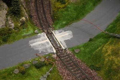 Bahnübergang DC-Car H0