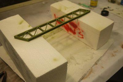 H0e Brücke lackiert