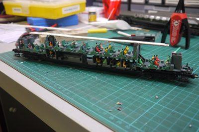 Innenbeleuchtung Doppelstockwagen H0_1
