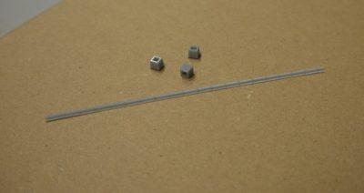 3D-Druck H0 Dachrinne Betonstütze