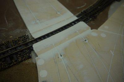 Bahnübergang H0e Hall-Sensoren