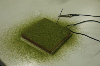 Testbrett Grasfasern
