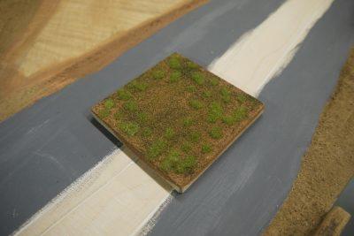 Testbrett Grasfasern fertig
